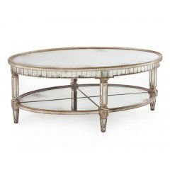 Hilton Head Furniture - John Kilmer Fine Interiors   Keswich Oval Cocktail Table 1