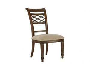 Hilton Head Furniture - John Kilmer Fine Interiors   Lattice Side Dining Chair 1