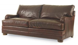 Hilton Head Furniture Store - Century Furniture Leatherstone Apt Sofa (2 Backs/2 Seats)
