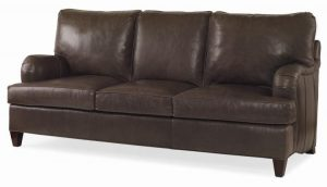 Hilton Head Furniture Store - Century Furniture Leatherstone Apt Sofa (3 Backs/3 Seats)