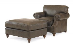 Hilton Head Furniture - John Kilmer Fine Interiors   Leatherstone Ottoman 1