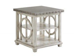 Hilton Head Furniture Store -  Lewiston Square Lamp Table
