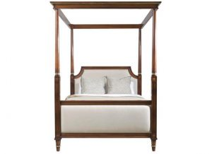 Hilton Head Furniture Store - Kindel Furniture Louis XVI Upholstered Bed   King