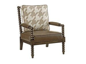 Hilton Head Furniture Store - Tommy Bahama Cypress Point Maarten Leather Chair