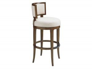 Hilton Head Furniture - John Kilmer Fine Interiors   Macau Swivel Bar Stool 1
