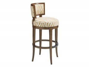Hilton Head Furniture - John Kilmer Fine Interiors   Macau Swivel Bar Stool2 1