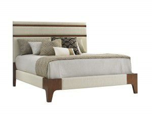 Hilton Head Furniture - John Kilmer Fine Interiors   Mandarin Upholstered Panel Bed 1