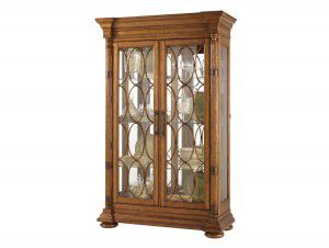 Hilton Head Furniture - From John Kilmer Fine Interiors - Mariana Display Cabinet