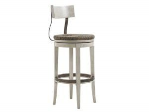 Hilton Head Furniture - John Kilmer Fine Interiors   Merrick Swivel Bar Stool