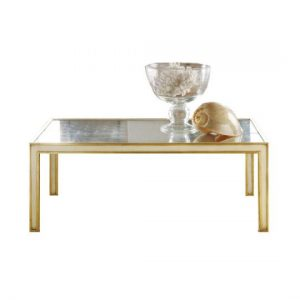 Hilton Head Furniture Store - Mirrored Cream Cocktail Table