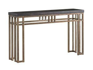 Hilton Head Furniture - John Kilmer Fine Interiors   Montera Travertine Console