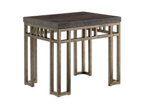 Hilton Head Furniture Store - Montera Travertine End Table