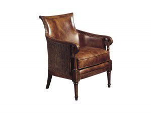 Hilton Head Furniture - John Kilmer Fine Interiors   Nassau Leather Chair