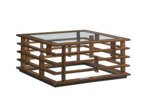 Hilton Head Furniture - John Kilmer Fine Interiors   Nobu Square Cocktail Table 1 Nobu Square Cocktail Table 1