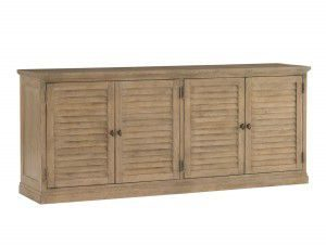 Hilton Head Furniture Store - Lexington Monterey Sands Palo Alto Louvered Door Stacking Unit