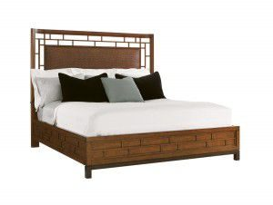 Hilton Head Furniture - John Kilmer Fine Interiors   Paradise Point Bed 1