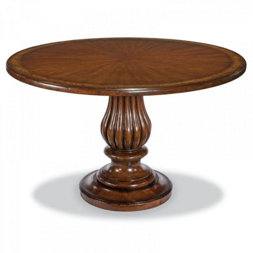 Hilton Head Furniture - John Kilmer Fine Interiors   Pedestal Dining Table 1 Pedestal Dining Table 1