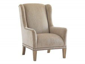 Hilton Head Furniture - John Kilmer Fine Interiors   Pfeiffer Leather Chair