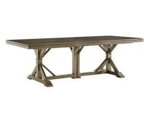 Hilton Head Furniture - From John Kilmer Fine Interiors - Pierpoint Double Pedestal Dining Table