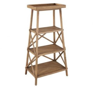 Hilton Head Furniture - John Kilmer Fine Interiors   Primitive Bookshelf Stand 1