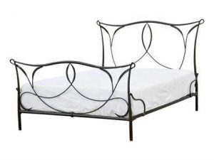 Hilton Head Furniture - John Kilmer Fine Interiors   Primitive Sienna Iron Bed 1