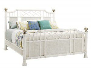 Hilton Head Furniture - John Kilmer Fine Interiors   Pritchards Bay Panel Bed 1