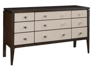 Hilton Head Furniture Store - Fine Furniture Design Deco Quadrillage Leather Chest