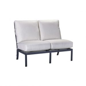 Hilton Head Furniture - John Kilmer Fine Interiors   Raleigh Armless Loveseat 1