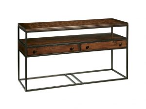 Hilton Head Furniture Store - Fine Furniture Design Harbor Springs Rectangular Metal And Wood Console Table