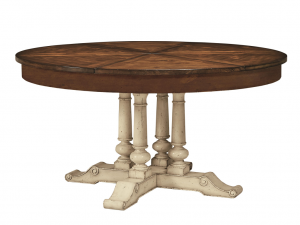 Hilton Head Furniture - John Kilmer Fine Interiors   Round Extending Dining Table
