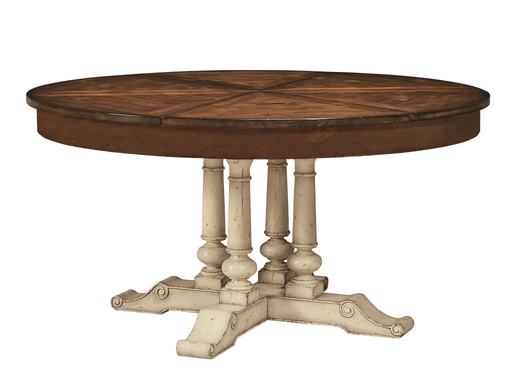 Hilton Head Furniture   John Kilmer Fine Interiors Round Extending Dining  Table Round Extending Dining Table