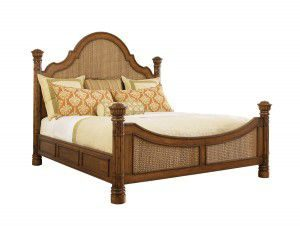 Hilton Head Furniture Store - Tommy Bahama Island Estate Round Hill King Bed