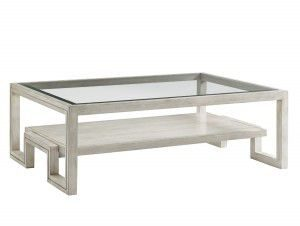 Hilton Head Furniture - John Kilmer Fine Interiors   Saddlebrook Rectangular Cocktail Table