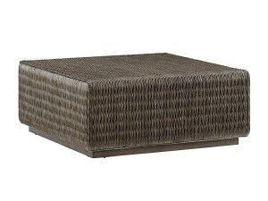 Hilton Head Furniture - John Kilmer Fine Interiors   Seawatch Woven Cocktail Table