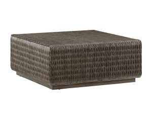 Hilton Head Furniture Store -  Seawatch Woven Cocktail Table