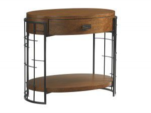 Hilton Head Furniture - John Kilmer Fine Interiors   Sendai High Low Nightstand 1