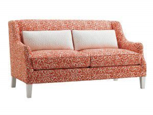Hilton Head Furniture - From John Kilmer Fine Interiors - Sofia Love Seat 1
