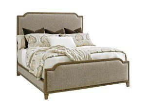 Hilton Head Furniture Store - Tommy Bahama Cypress Point Stone Harbour Upholstered King Bed