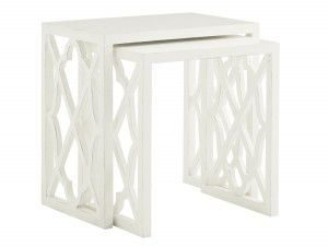 Hilton Head Furniture - John Kilmer Fine Interiors   Stovell Ferry Nesting Tables 1