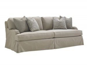 Hilton Head Furniture - John Kilmer Fine Interiors   Stowe Slipcover Sofa Gray