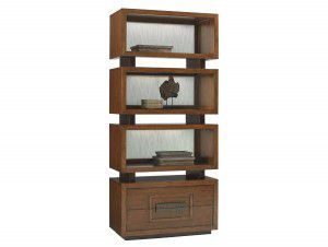 Hilton Head Furniture - John Kilmer Fine Interiors   Tonga Tiered Bookcase 1