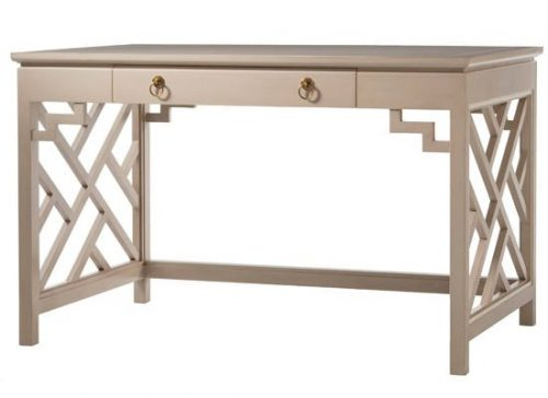 Hilton Head Furniture - John Kilmer Fine Interiors   Trellis Writing Table 1 Trellis Writing Table 1