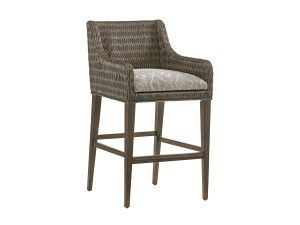 Hilton Head Furniture - John Kilmer Fine Interiors   Turner Woven Bar Stool2