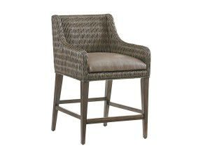 Hilton Head Furniture - John Kilmer Fine Interiors   Turner Woven Counter Stool
