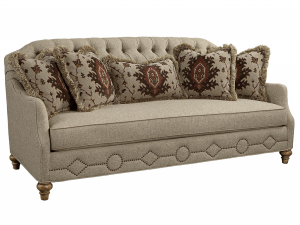 Hilton Head Furniture Store - Fine Furniture Design Biltmore Vestibule Tufted Back Sofa