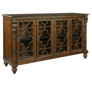 Hilton Head Furniture - John Kilmer Fine Interiors   Vintage European Entertainment Console 1
