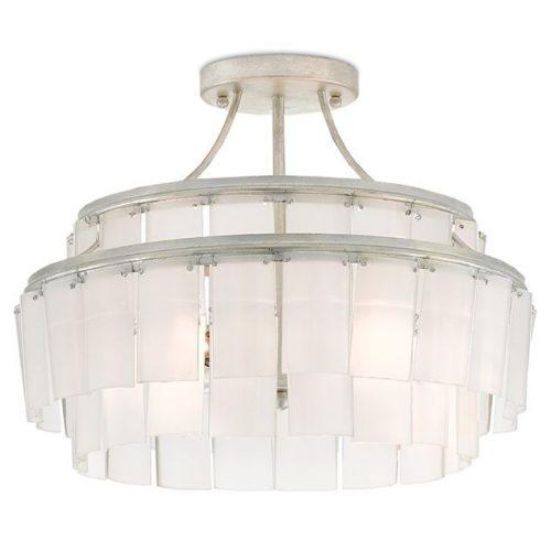 Hilton Head Furniture - John Kilmer Fine Interiors   Vintner Blanc Semi Flush Mount 1 Vintner Blanc Semi Flush Mount 1