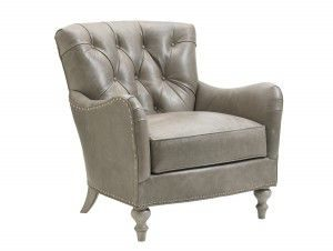 Hilton Head Furniture Store - Lexington Oyster Bay Wescott Leather Chair