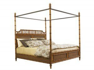 Hilton Head Furniture - John Kilmer Fine Interiors   West Indies Bed