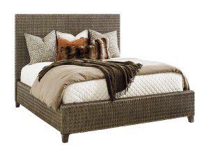 Hilton Head Furniture - John Kilmer Fine Interiors   Woven Platform Bed Woven Platform Bed